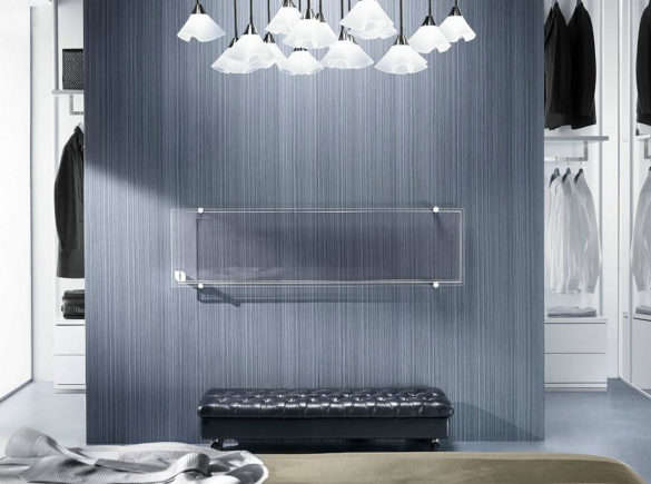 Glass radiator Thermoglance Asola Vetro