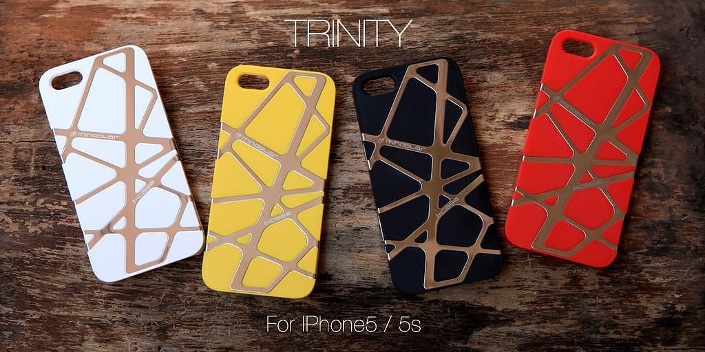 Trinity iPhone 5s Case by Mindplar.