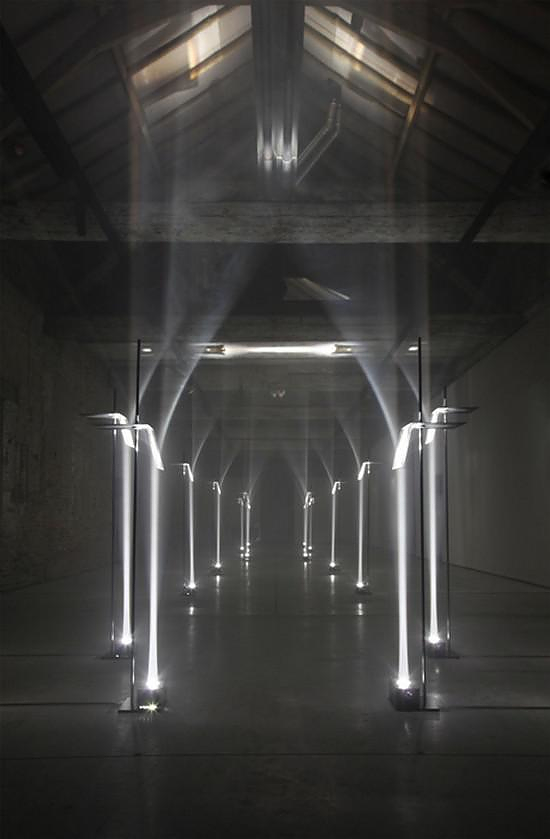 Arcades Lighting Installation by Troika.