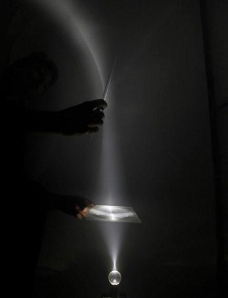 Εγκατάσταση Φωτός Arcades των Troika.
