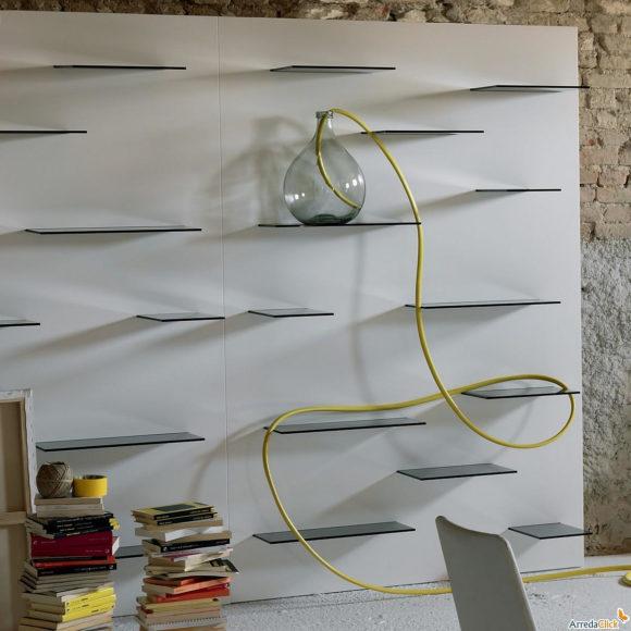 Μίνιμαλ Βιβλιοθήκη Τοίχου Galaga από τη Miniforms.
