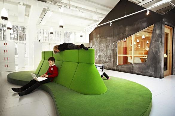 Telefonplan School by Rosan Bosch