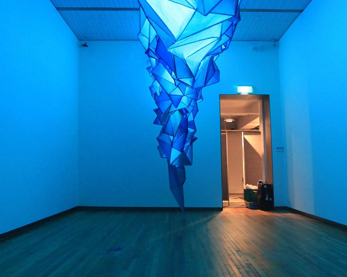 "Iceberg Art Installation ""What Lies Beneath"" by Gabby O'Connor."