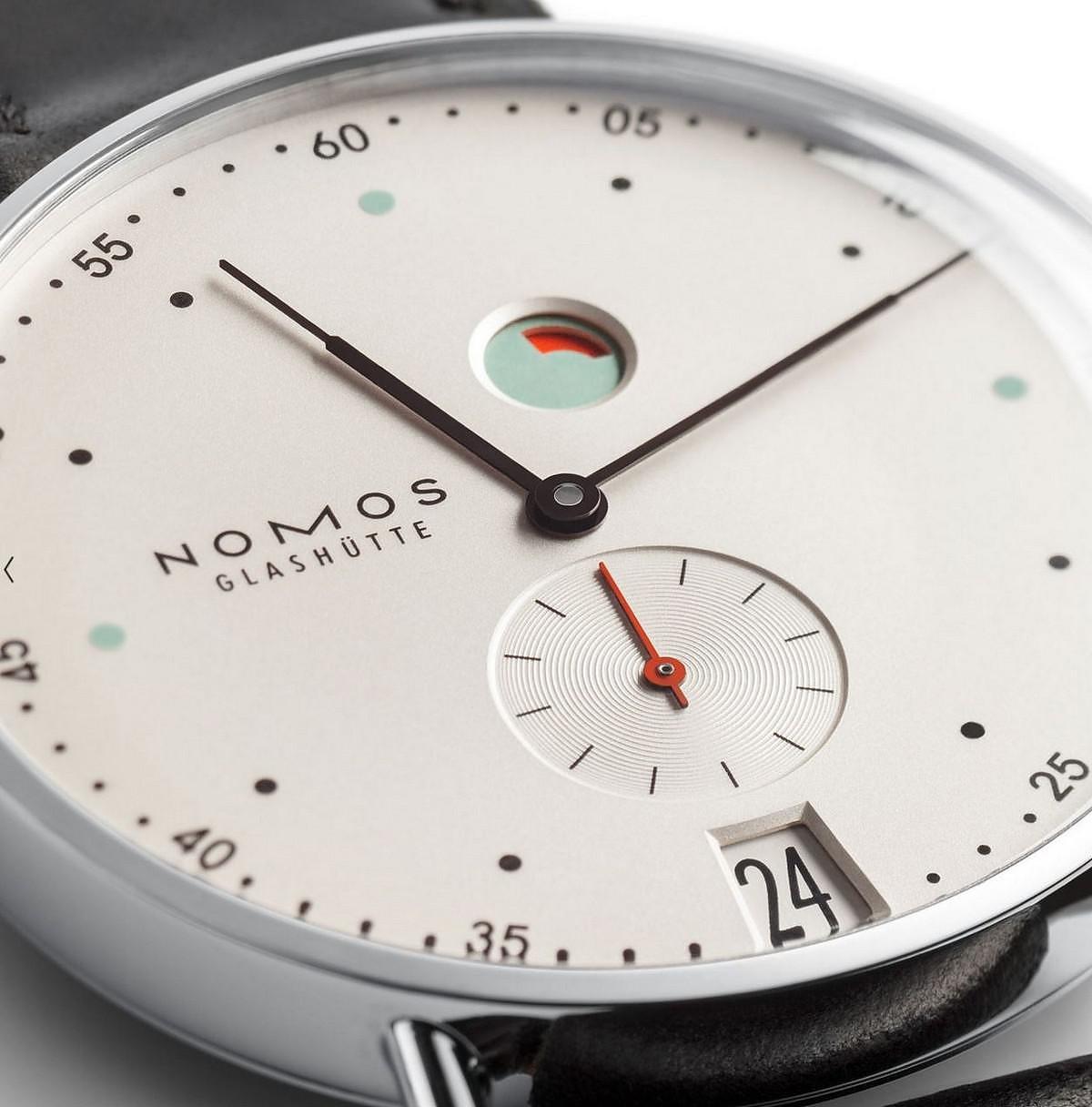A Gentleman's Watch: NOMOS Metro Datum Gangreserve.