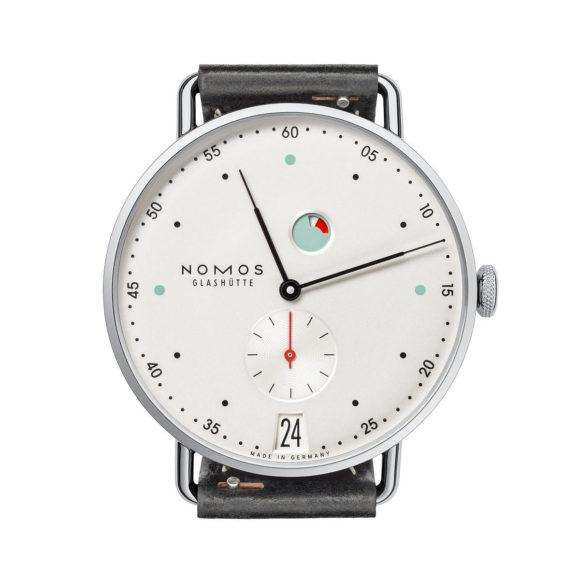 Αυτόματο Ρολόι Χειρός NOMOS Metro Datum Gangreserve.