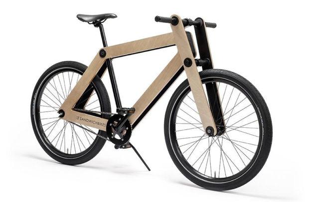 Sandwichbike Flat-Packed Wooden Bike (4)