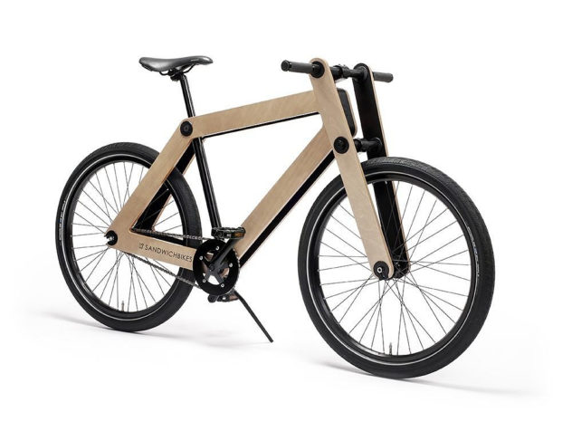Sandwichbike Flat-Packed Wooden Bike (4)