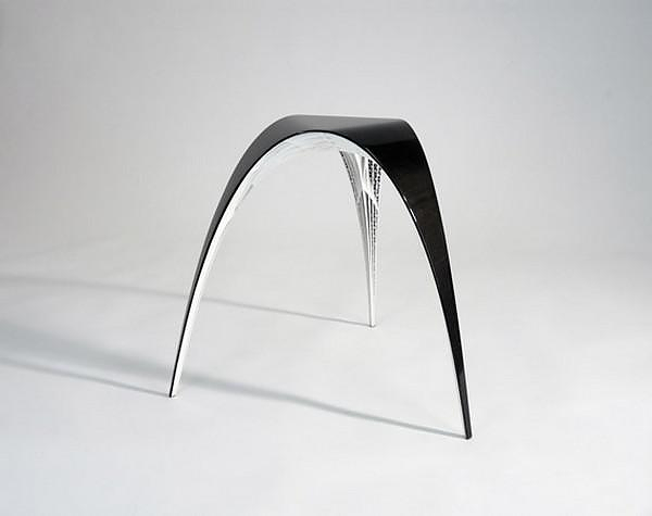 3D Printed Gaudi Chair and Stool by Bram Geenen.