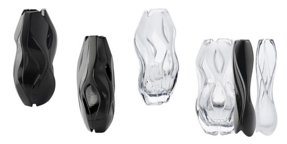 Lalique Crystal Architecture Vase Collection by Zaha HadidLalique Crystal Architecture Vase Collection by Zaha Hadid