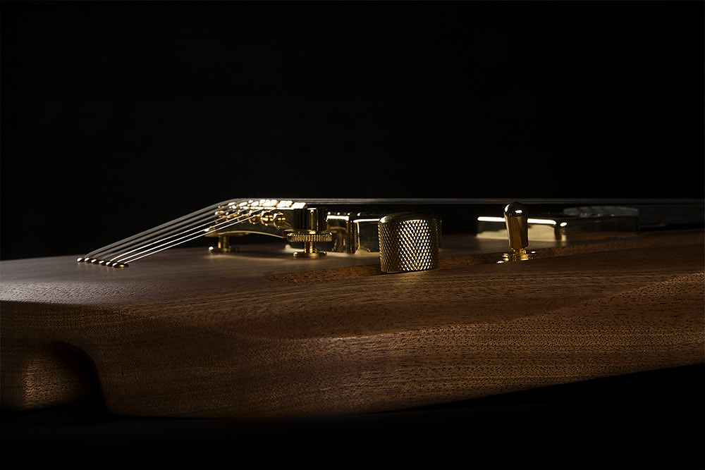 Lava Fretless Electric Guitar by Rapolas Grazys.