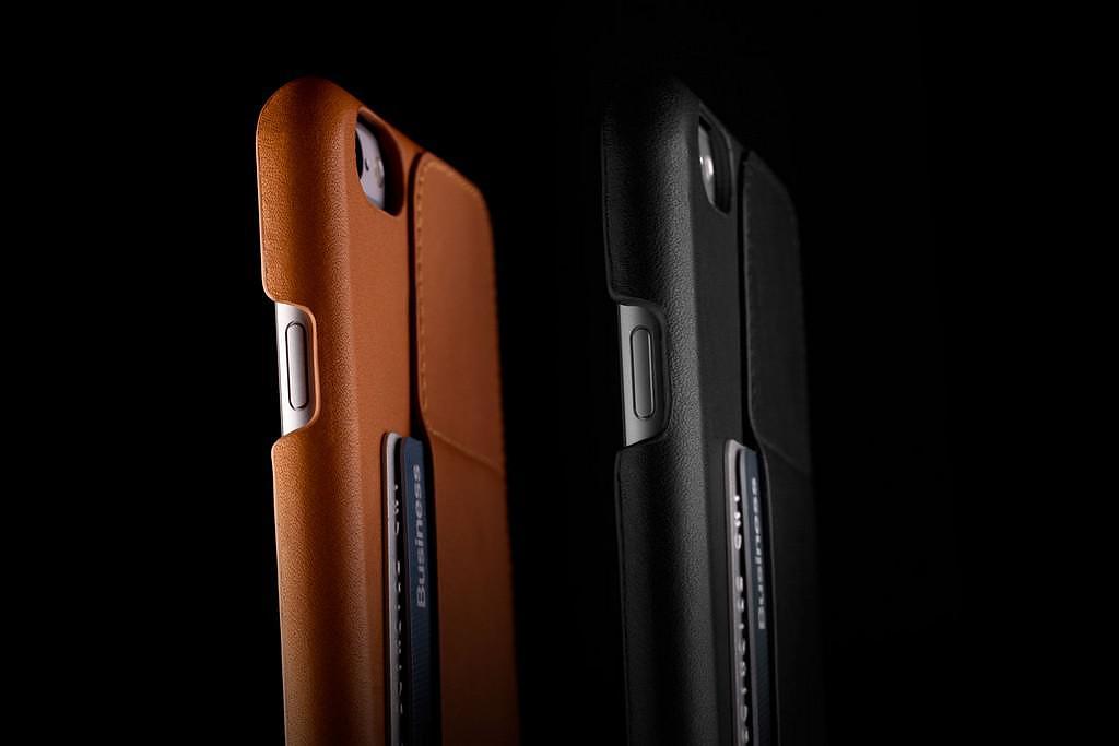 Δερμάτινες θήκες iPhone 6 και iPhone 6 Plus από την Mujjo.