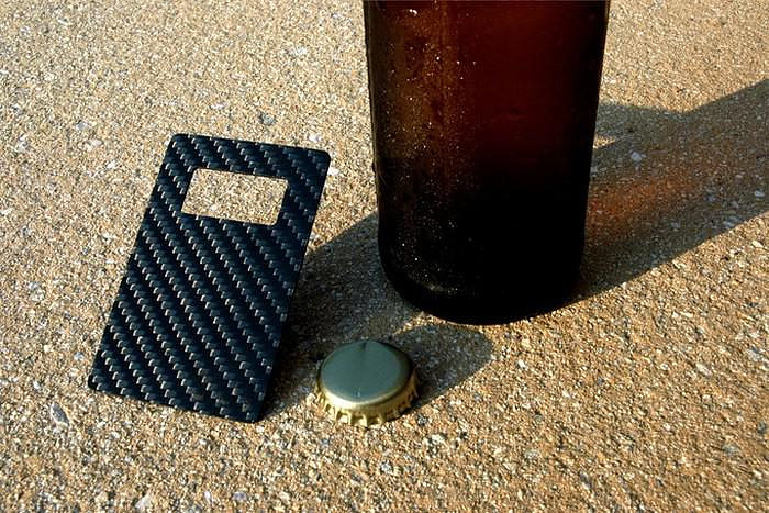 Leverage Carbon Fiber Bottle Opener by Kumquat.