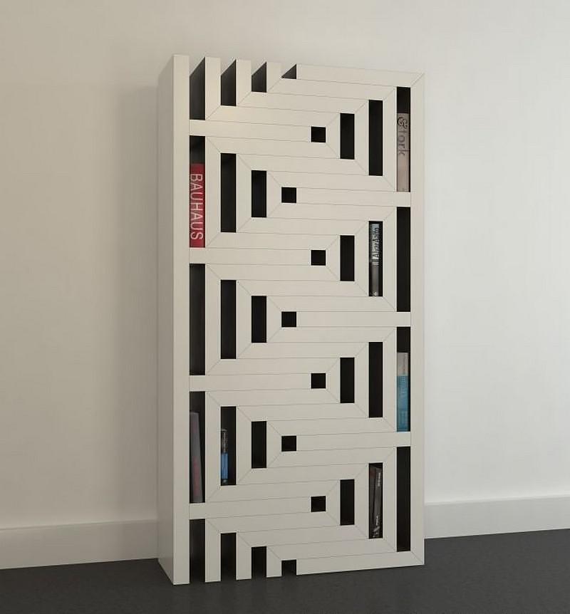 REK a Modular Bookcase by Reinier de Jong.