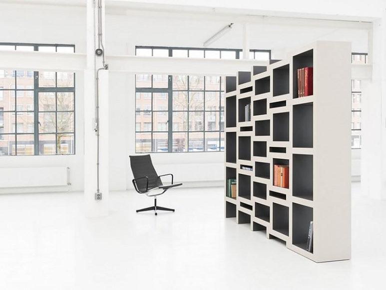 Συναρμολογούμενη βιβλιοθήκη REK του Reinier de Jong.