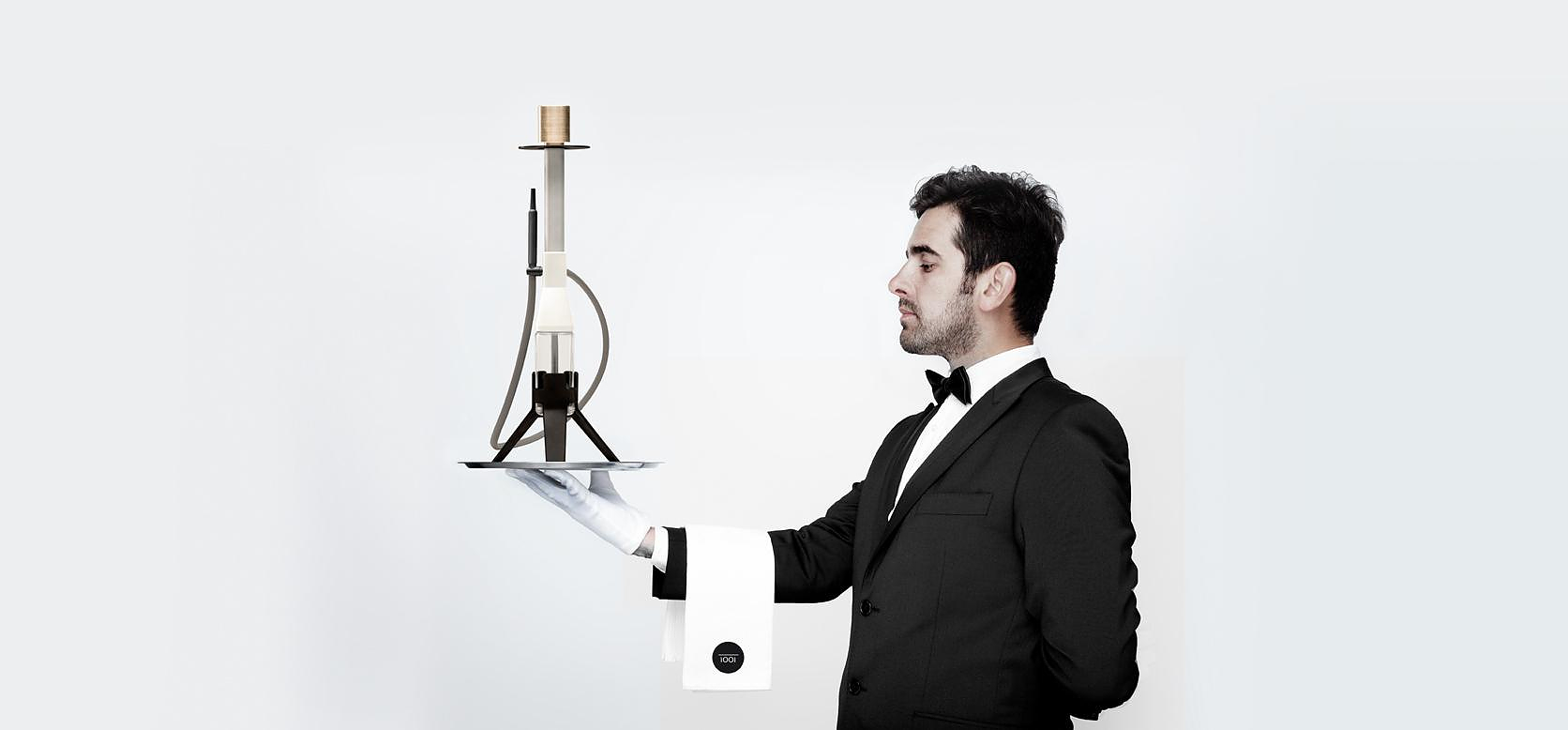 IOOI μοντέρνος ναργιλές από τον Christian Zanzotti.