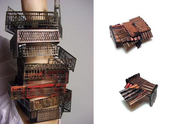 Architecture Inspired Jewelry Jung Huei Chao Bench 886