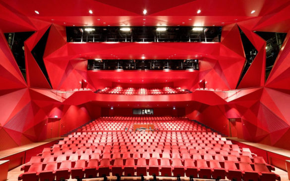 Agora Theatre Main Hall UNStudio