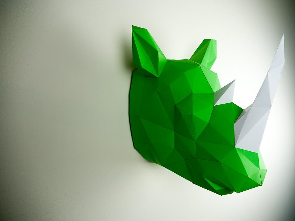Papertrophy | Precut Paper Sculptures for your Home.