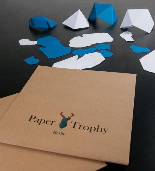 Papertrophy | Χάρτινα γλυπτά διακοσμούν το σπίτι σας.