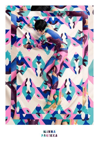 Μοντέρνα ζωγραφική σώματος από την Janine Rewell.