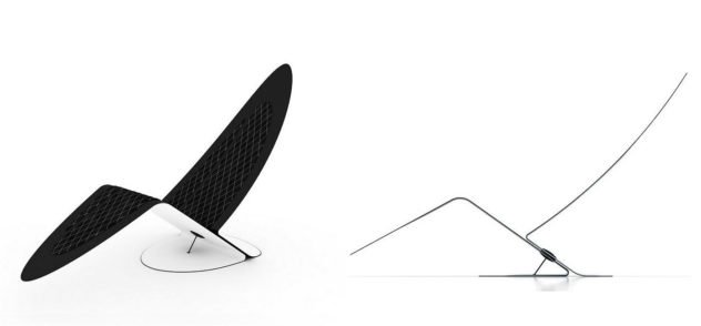 Marea Carbon Fiber Lounge Chair by Jules Sturgess