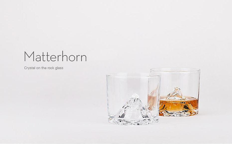 Ποτήρια Ουίσκι Matterhorn της Tale Design.