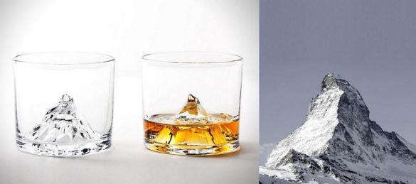 Matterhorn Whiskey Glasses Tale Design