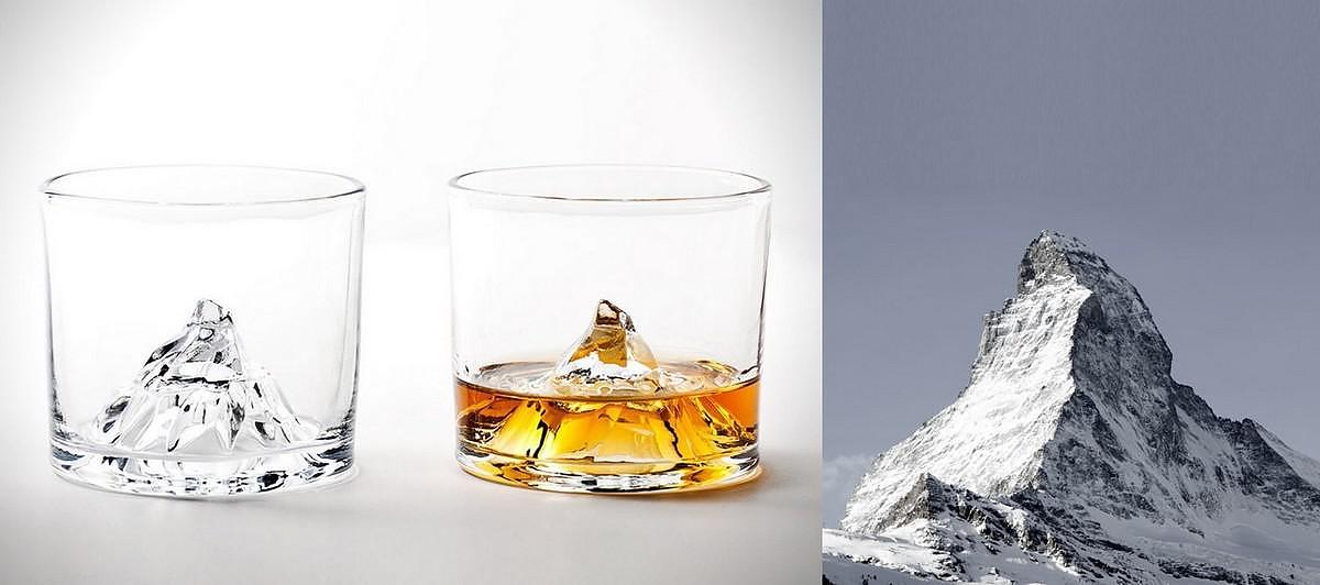 Matterhorn  Whiskey Glasses