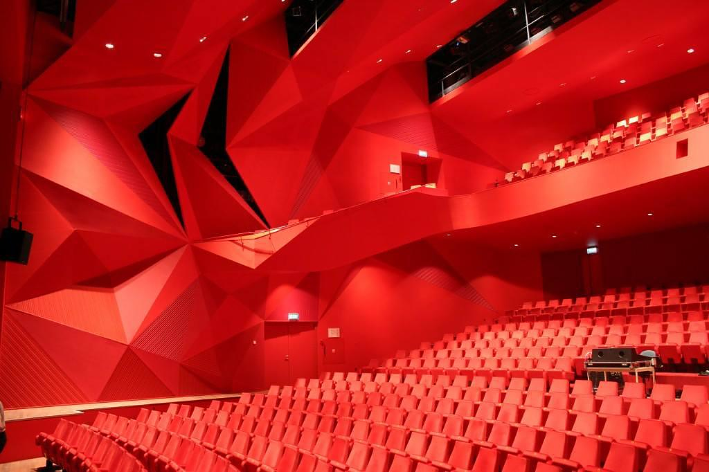 Agora Theatre by UNStudio.