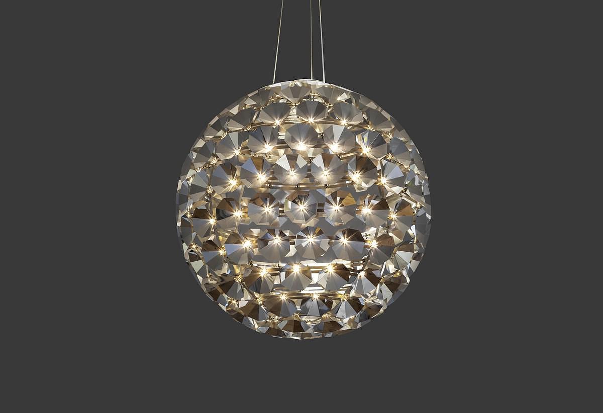 Elaine Suspension Lamp by Daniel Becker for Quasar.