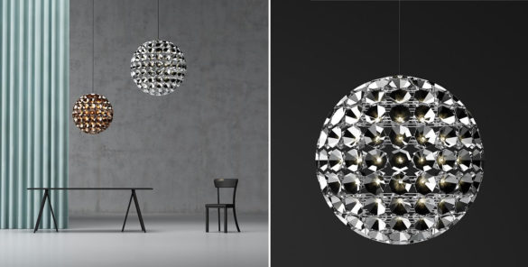 Elaine Suspended Lamp Daniel Becker Quasar Holland
