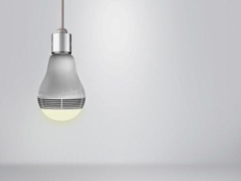 Playbulb μια λάμπα LED με ενσωματωμένο ηχείο Bluetooth.