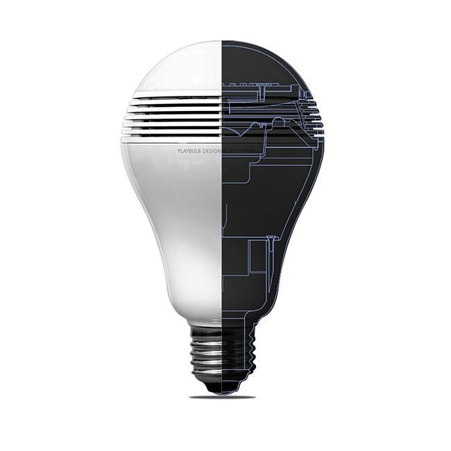 playbulb led light bulb with built in bluetooth speaker