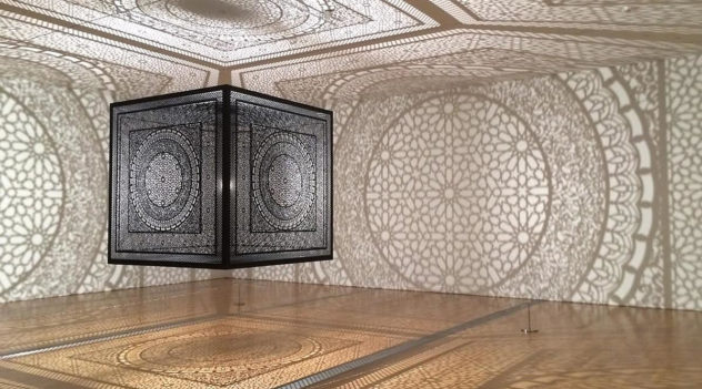 interpretations art installation by Anila Quayyum Agha