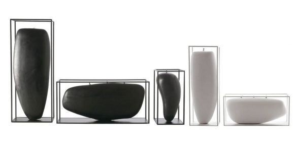 Overscale Candles and Flames by Jean Marie Massaud for B&B Italia