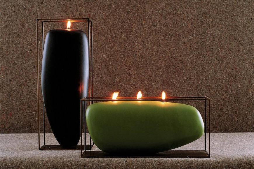 Διακοσμητικά κεριά του Jean Marie Massaud για την B&B Italia.