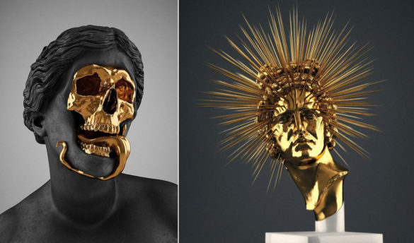 Creative Macabre Sculptures by Hedi Xandt