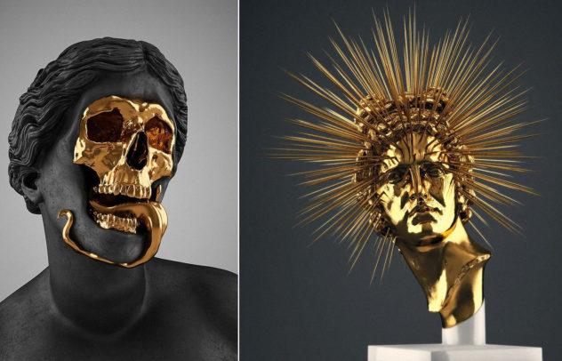 Creative Macabre Sculptures Hedi Xandt