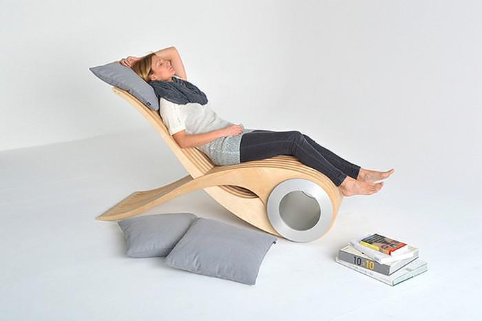 Πολυμορφικό κάθισμα EXOCET του Stephane Leathead.