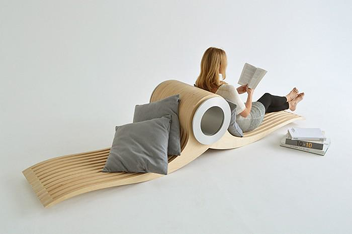 EXOCET Transforming Chair by Stéphane Leathead.
