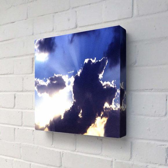 Φωτιζόμενος πίνακας God Beams της Duffy London.