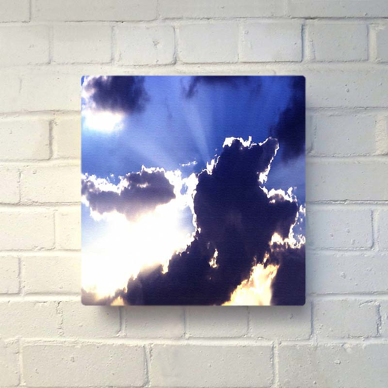God Beams Glo-Canvas by Duffy London.