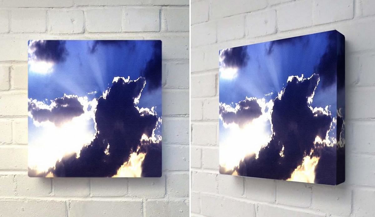 God Beams Glo-Canvas by Duffy London