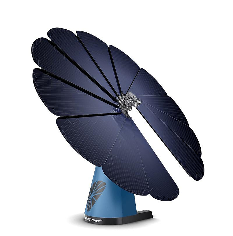 Smartflower POP All-In-One Solar System.