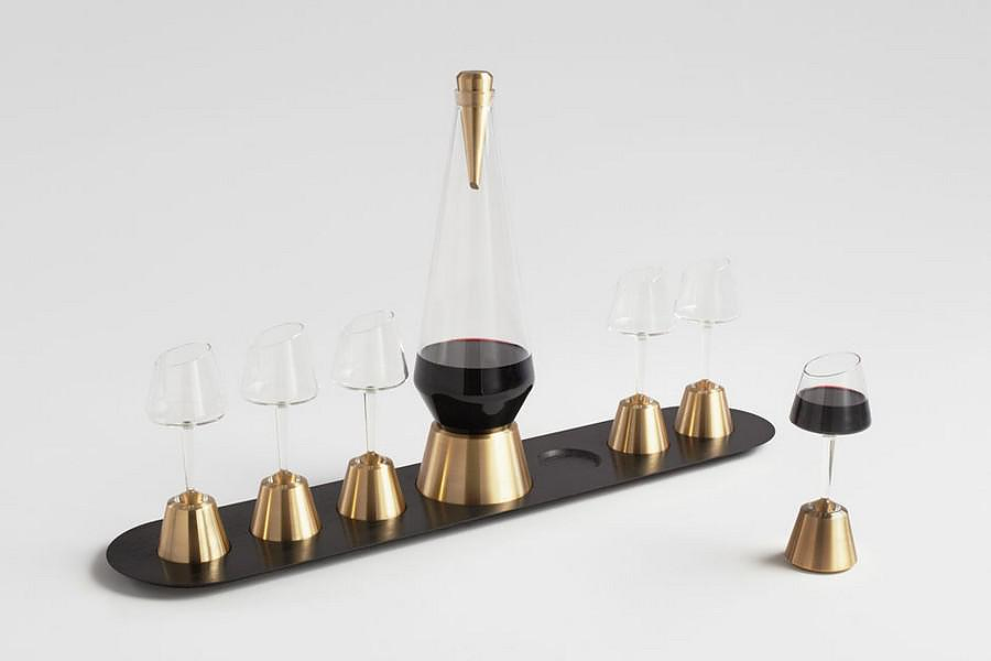 Bishop of Norwich Wine Serving Set by Kacper Hamilton.