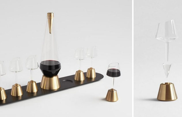 Bishop of Norwich Wine Set by Kacper Hamilton