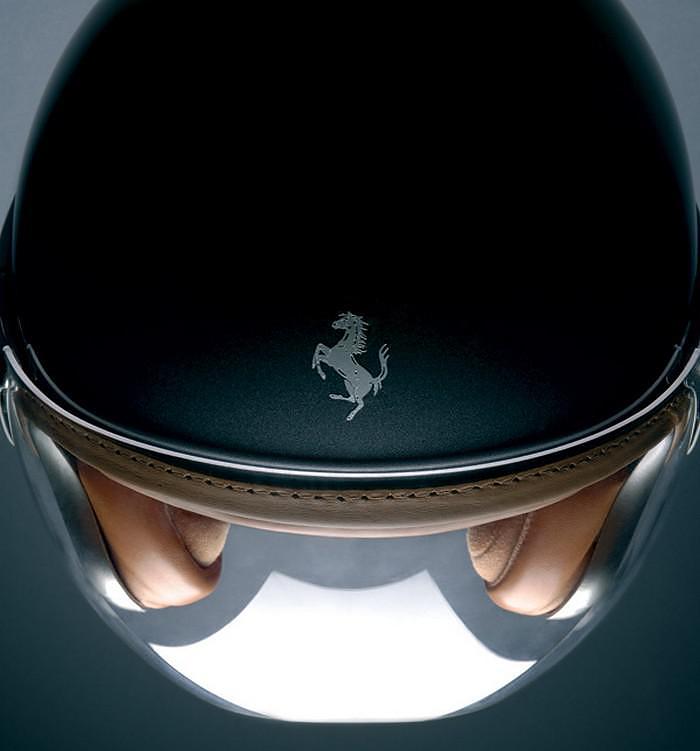 Ferrari Motorcycle Helmet by NewMax.