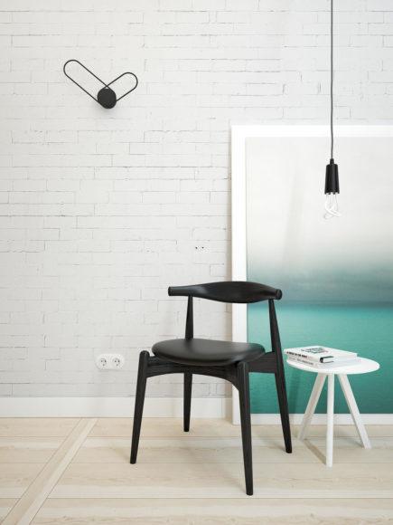 Μοντέρνο Ρολόι τοίχου Klipp από το Line Studio.