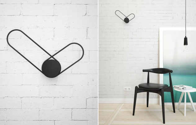 Klipp Wall Clock by Line Studio