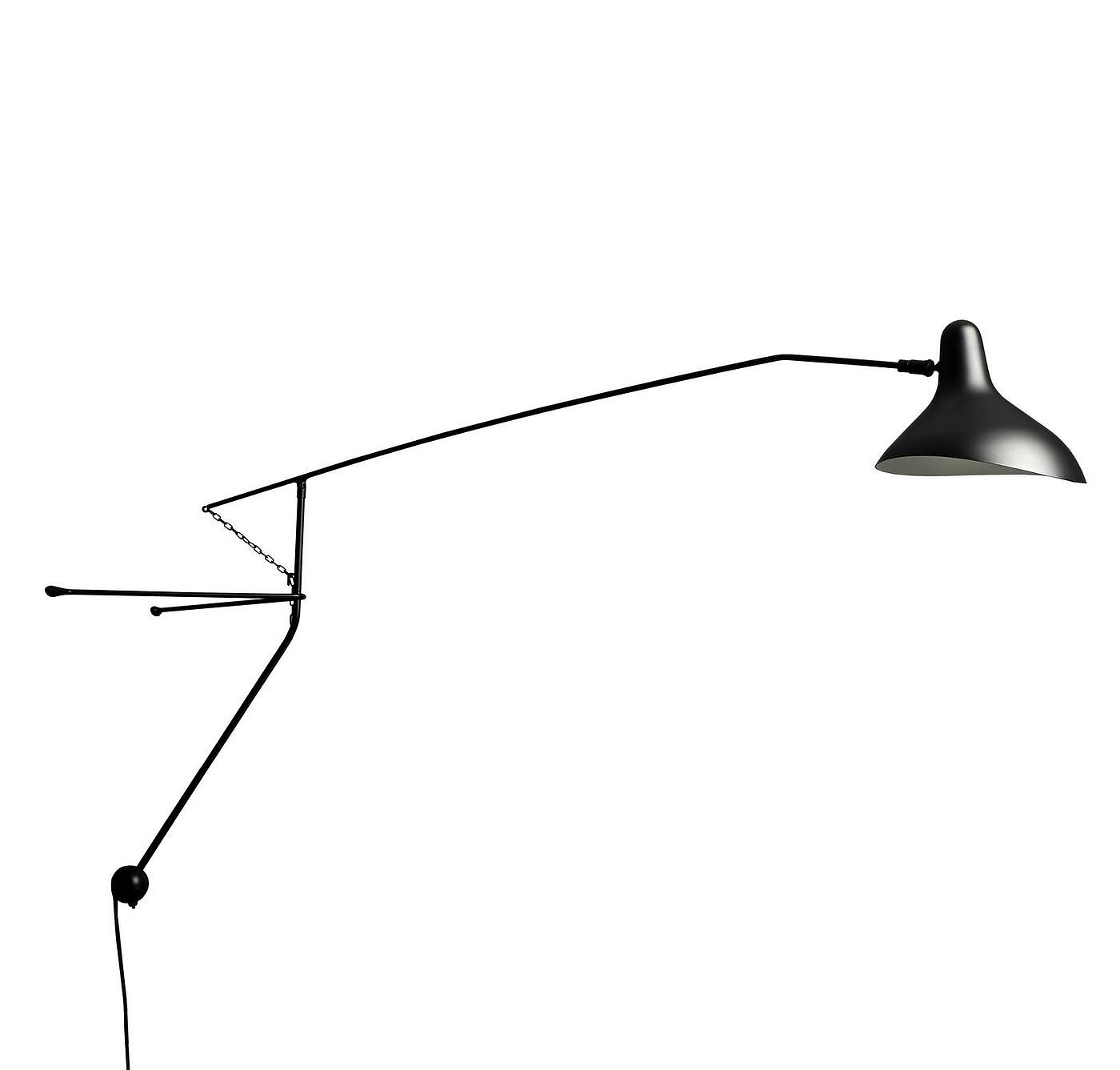 Mantis BS2 Wall Lamp by Bernard Schottlander.